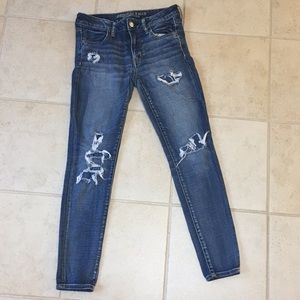 American eagle jegging jeans size 8